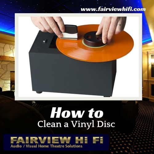 How to Clean a Vinyl Disc