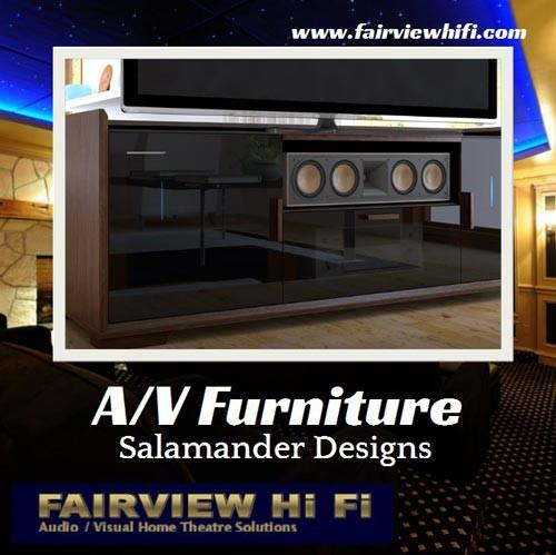 Wise Choice in A/V Furniture: Salamander Designs