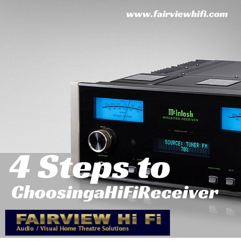 4 Steps to Choosing a HiFi Receiver