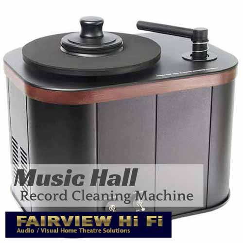 Fantastic Record Cleaning Machine from Music Hall