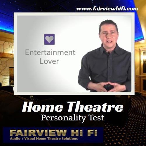 Marc Saltzman: Home Theatre Personality Test
