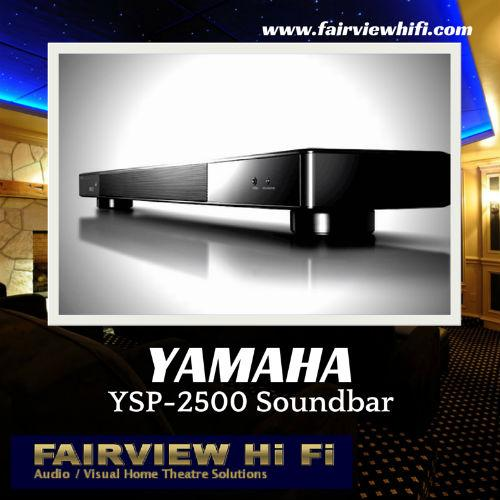 Reviews of the Award Winning YAMAHA YSP-2500