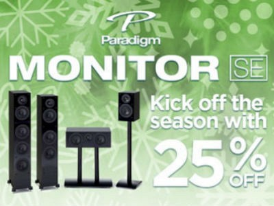 25% OFF MSRP ALL Monitor SE Speakers