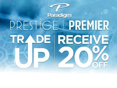 Paradigm Trade-Up Event - Receive 20% OFF